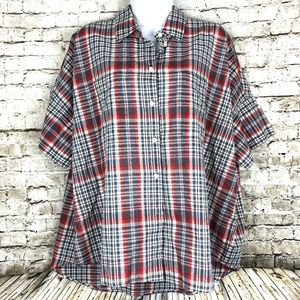 Madewell Courier Kerchief Plaid Button Down Shirt